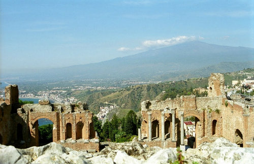 Flat in Taormina for   5 •   animals accepted (dog, pet...)