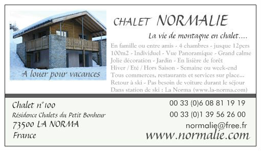 Chalet in la norma - Vacation, holiday rental ad # 45113 Picture #1