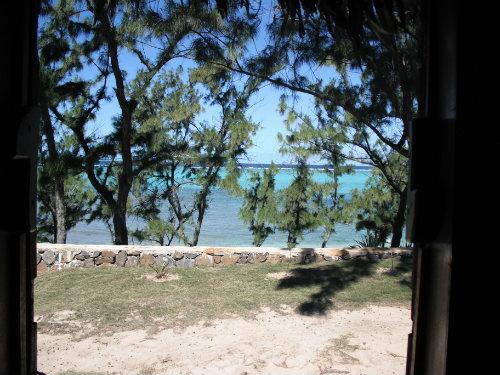 Graviers -    vue sur mer