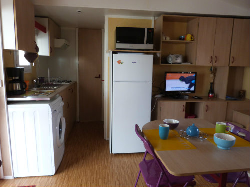 Mobile home in Valras plage - Vacation, holiday rental ad # 45525 Picture #1