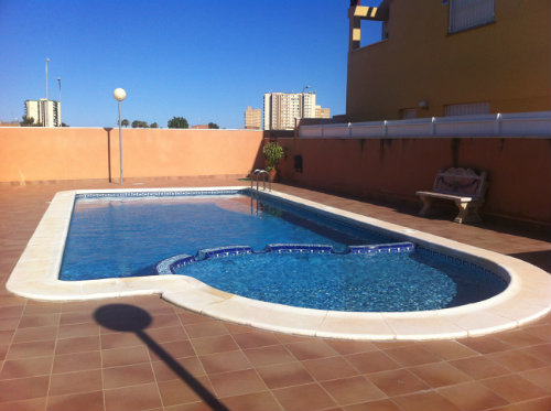 Flat in Santiago de la Ribera - Vacation, holiday rental ad # 45534 Picture #1