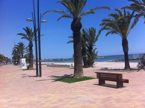 Flat in Santiago de la Ribera - Vacation, holiday rental ad # 45534 Picture #2