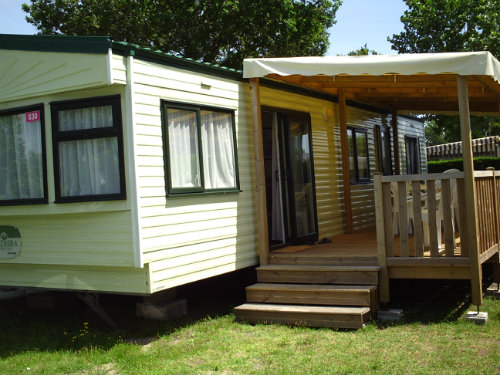 Mobile home La Palmyre - 8 people - holiday home  #45576