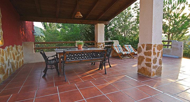 Gite in caravaca de la cruz zu vermieten f r 2 personen for Pisos para porches de casas