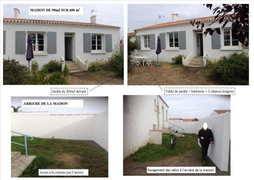 Maison le d 39 yeu louer pour 6 personnes location n 45723 - Location maison ile d yeu ...