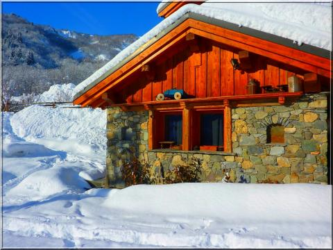 Chalet Valmorel - 5 personnes - location vacances  n°45833