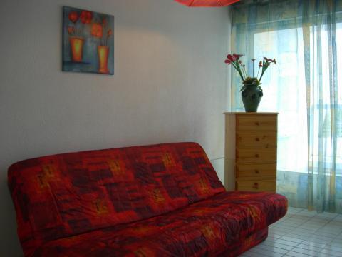 Studio à La grande motte pour  4 •   avec balcon   n°45867