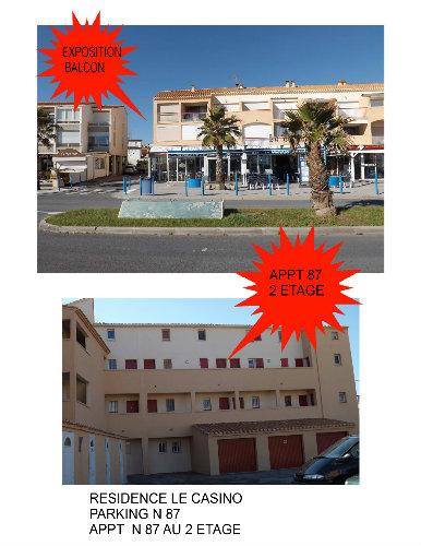 Appartement St Pierre La Mer - 6 personnes - location vacances  n°46005