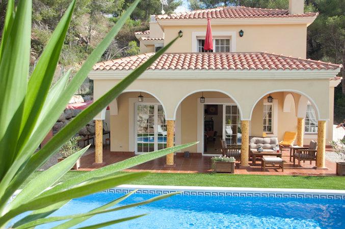 Casa de montaña Olivella - 8 personas - alquiler n°46012