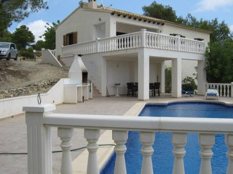 House in Benitachell for   7 •   with private pool