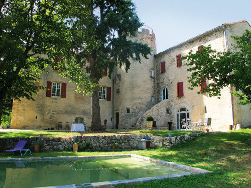 Château Aumessas - Le Roquefeuil - 6 personnes - location vacances  n°46258