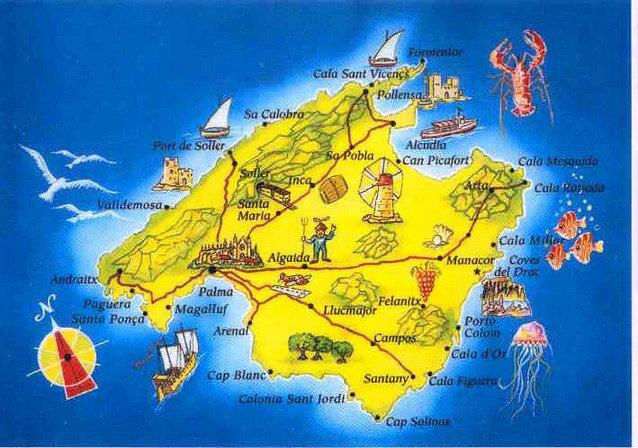 Studio Palma De Majorque - 3 personnes - location vacances  n°46370