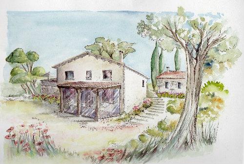 Maison Puylaroque - 10 personnes - location vacances  n°46372