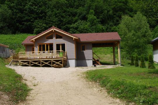 Chalet Goumois - 5 Personen - Ferienwohnung N°46423