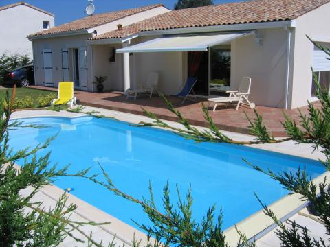 House Les Mathes - La Palmyre - 8 people - holiday home  #46478