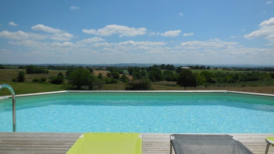 Gite in Montirat für  14 •   mit privat Schwimmbad
