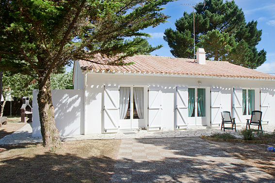 Maison 9 personnes Saint-hilaire-de-riez - location vacances  n°46560