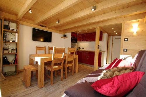 Appartement Argentiere Chamonix Mont Blanc - 6 personnes - location vacances  n°46565