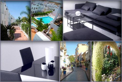 Appartement in Estépona voor  6 •   met terras