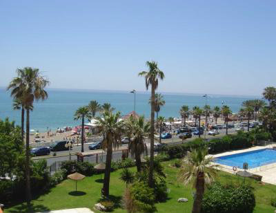 Flat in Malaga for   4 •   with shared pool