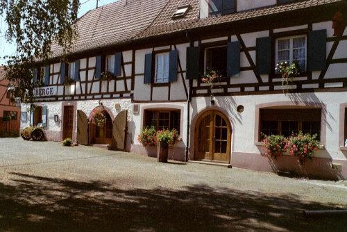 Appartement à Ostheim alsace pour  3 •   cour