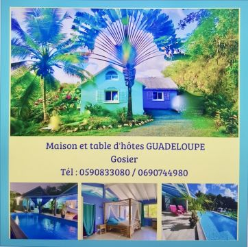 Gite 7 personnes Le Gosier - location vacances  n°47591