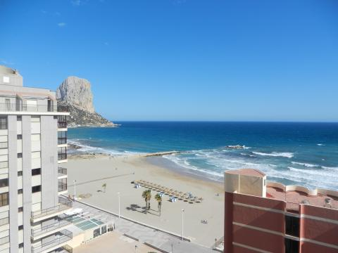 Calpe -    vista al mar