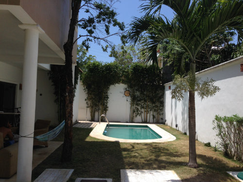 Chambre d'hôtes à Playa del carmen pour  5 •   avec piscine privée