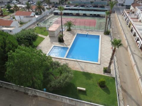 Appartement à Peñiscola pour  6 •   parking privé