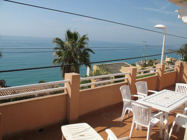 Appartement à Peñiscola pour  6 •   vue sur mer