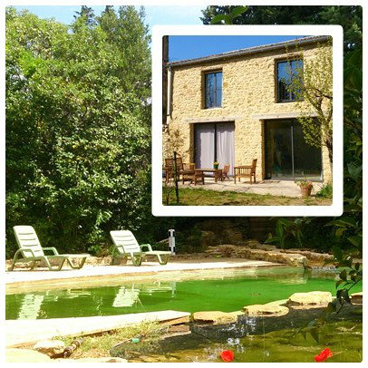 Gite 6 personnes Vers Pont Du Gard - location vacances  n°48077