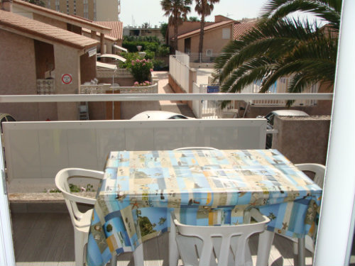 Flat in Saint-Cyprien Plage - Vacation, holiday rental ad # 48108 Picture #0