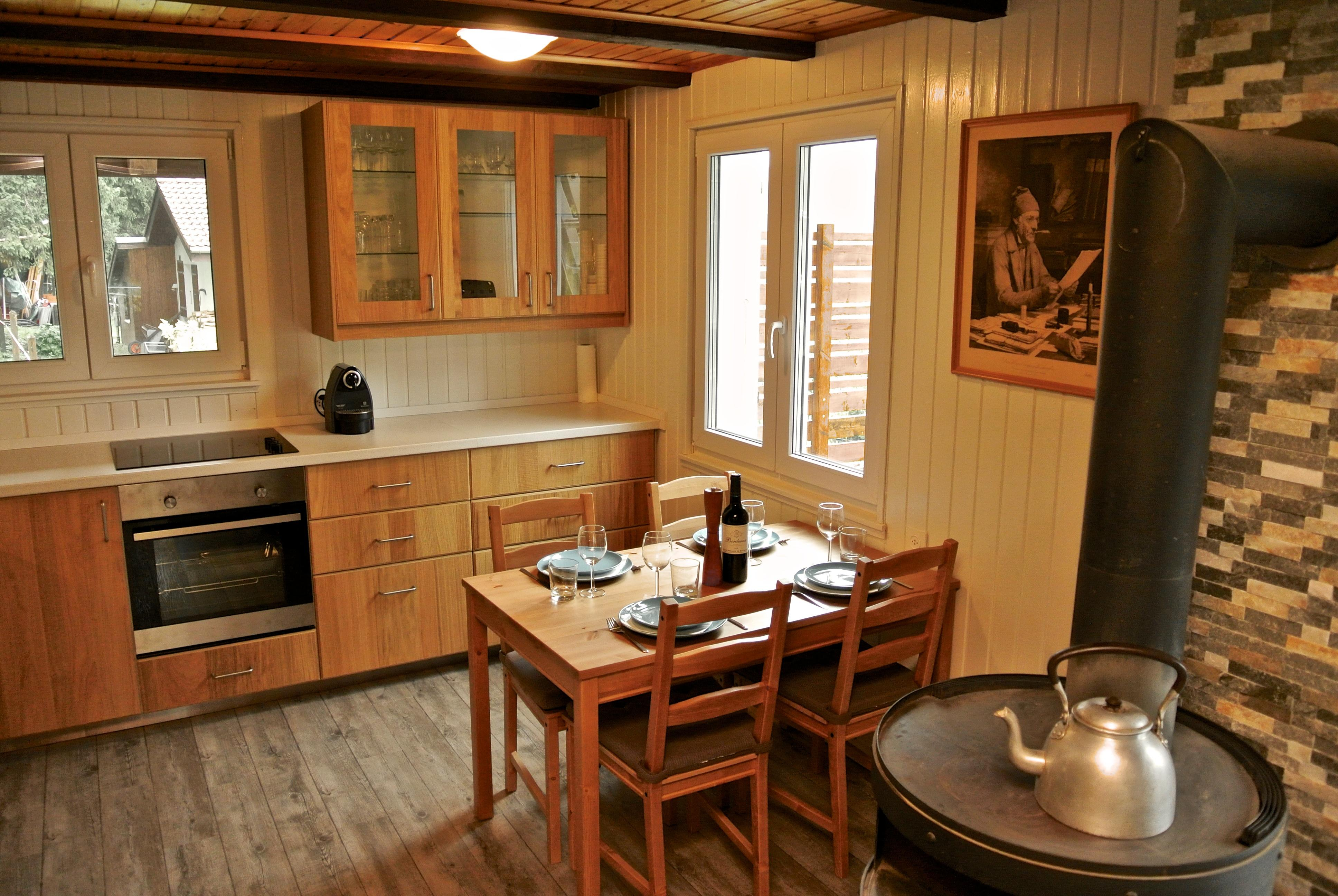 Chalet St-imier - 4 people - holiday home  #48375