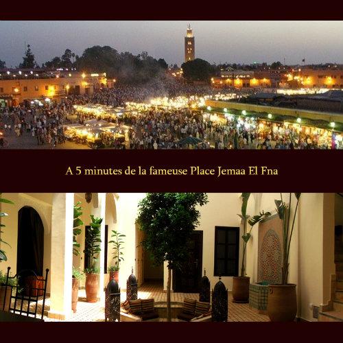 Maison Marrakech - 21 personnes - location vacances  n°48424
