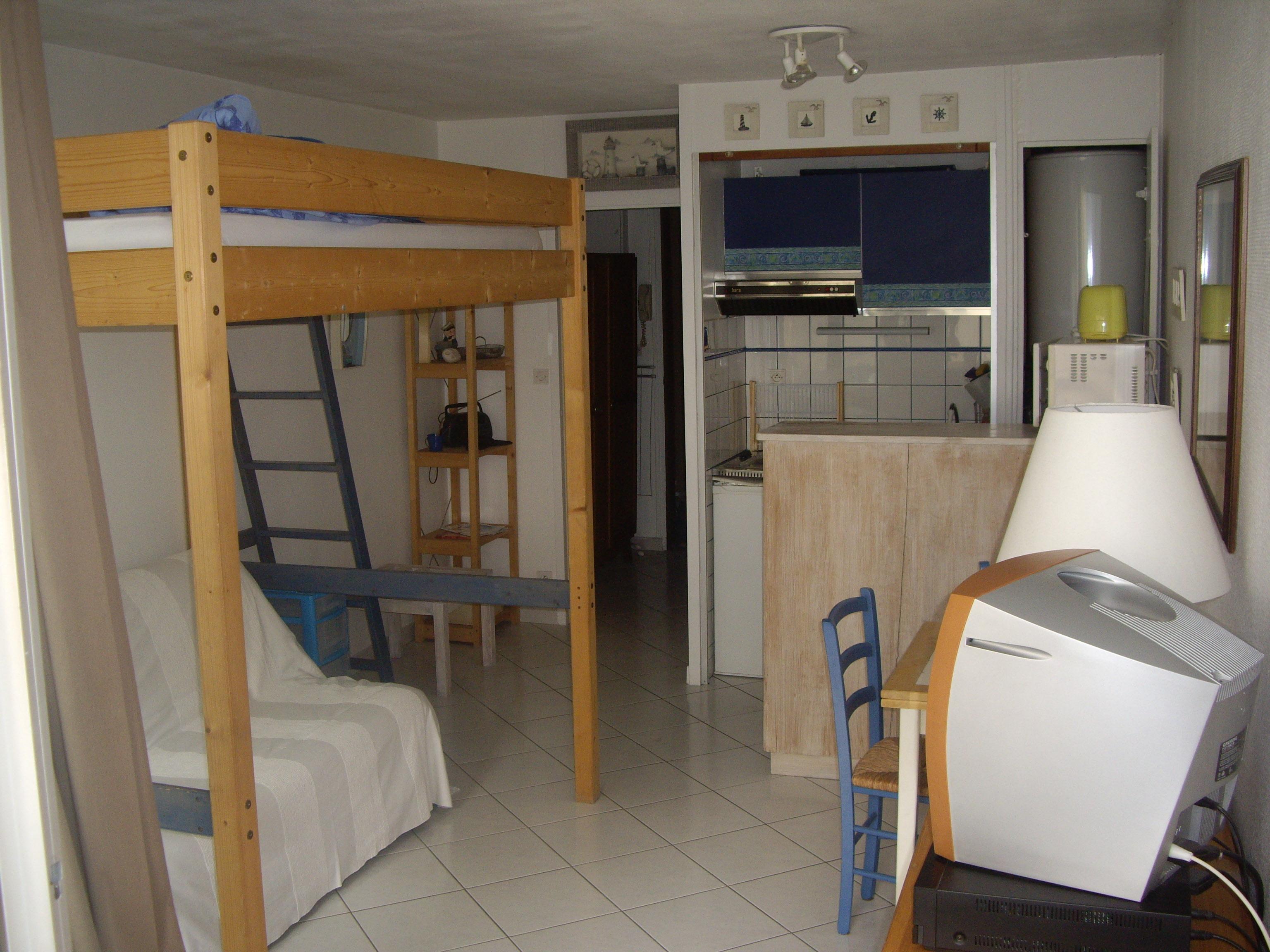 Studio 4 personnes La Rochelle - location vacances  n°48434