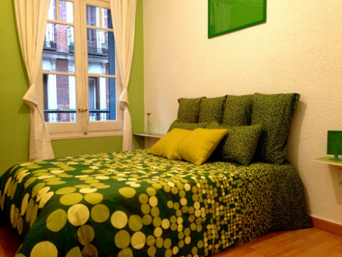 Chambre d'hôtes à Madrid pour  6 •   5 chambres