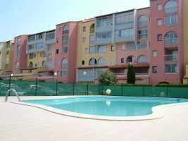 Flat in Le cap d agde for   6 •   animals accepted (dog, pet...)