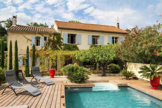 Maison Fontvieille - 8 personnes - location vacances  n�49673