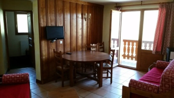 Flat in Val thorens for   8 •   with balcony