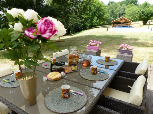 Gite Saint Germain Du Salembre - 6 personnes - location vacances  n°49801