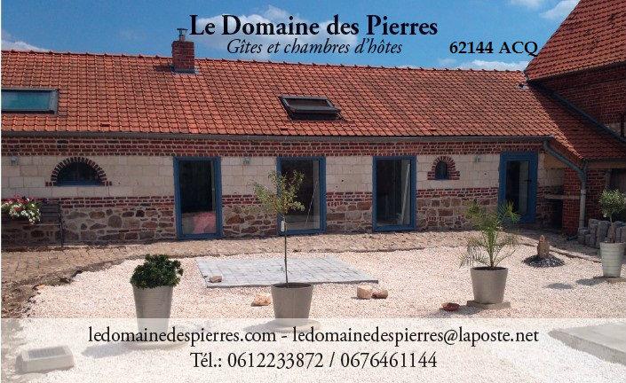 Gite Acq - 2 personnes - location vacances  n°49824