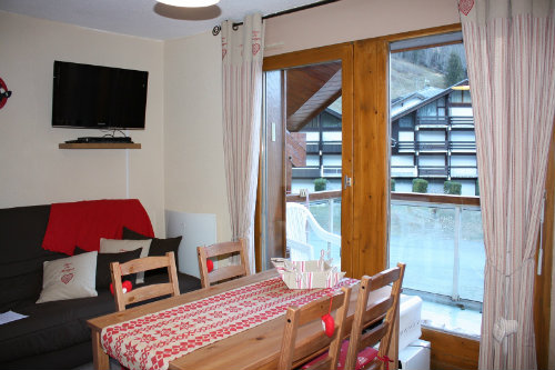 Studio in Les contamines Montjoie - Vacation, holiday rental ad # 50008 Picture #0