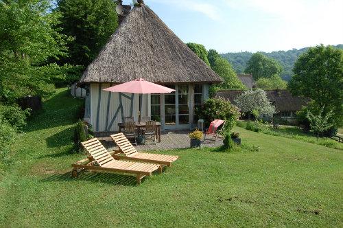 Gite à Saint wandrille- rançon pour  5 •   avec terrasse