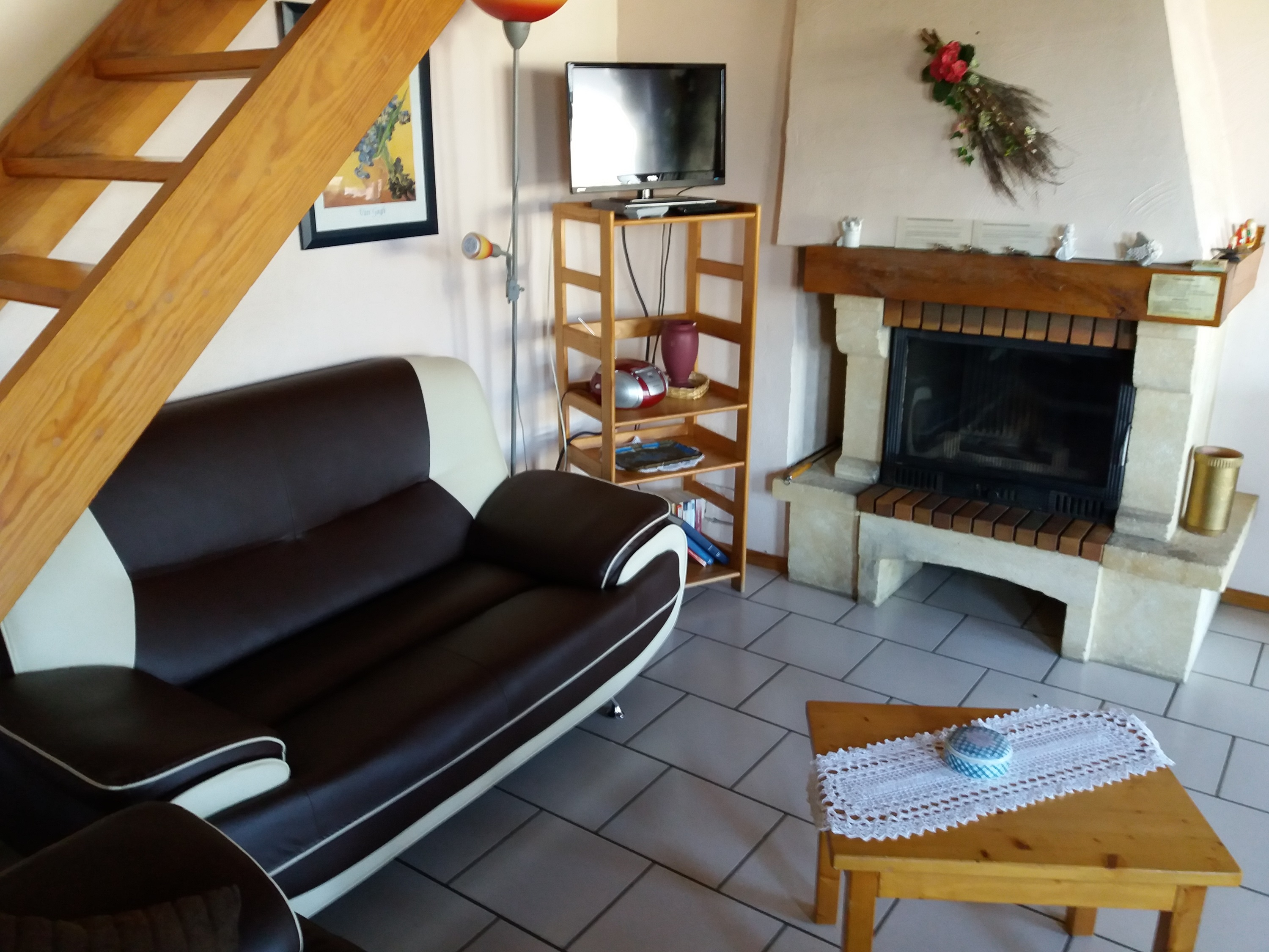 Chalet in Corbion for   4 •   with terrace