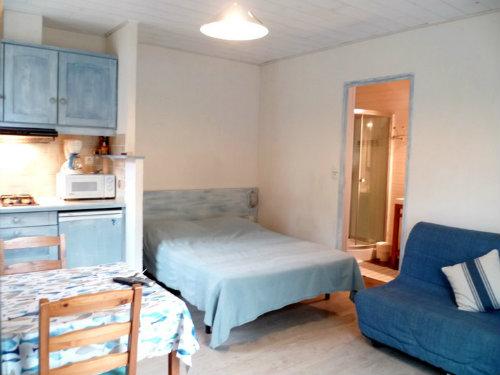 Studio à Saint-pierre d'oléron pour  2 •   avec terrasse