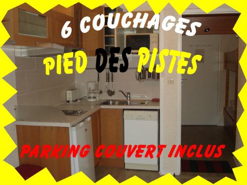 Appartement 6 personnes La Mongie - location vacances  n°50560