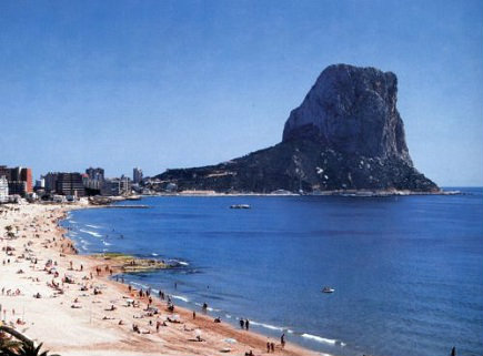 Flat 4 people Calpe - holiday home  #50922