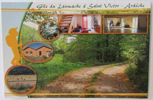 Gite Saint Victor - 7 personnes - location vacances  n°50938