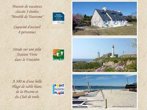 Maison Plougonvelin - 8 personnes - location vacances  n°50977