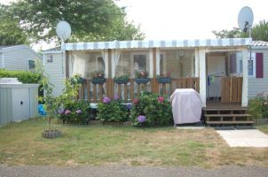 Mobile home Gastes - 6 people - holiday home  #50866